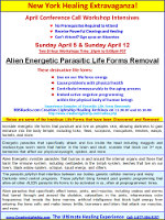 Alien Energetic Parasitic Lifeform and Earth Based Entity Removal - Page 1 - April 2009